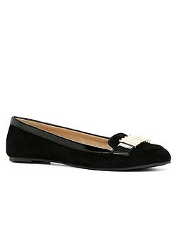 Aldo Delpha flat metal detail slip-on shoes