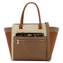 Pineto flared gusset tote bag