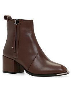 Glacia zip ankle boots