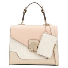 Aldo Rocket textured bag with lock detail