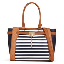 Bogard large tote with lock detail