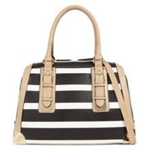 Aldo Camerana striped satchel bag.
