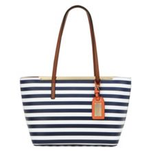 Vanwert mini tote with metal bar detail