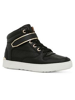 Minkley high top trainers