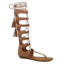 Marianne lace-up gladiator sandals