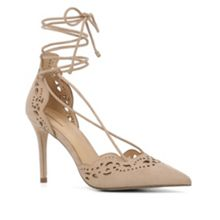 Antoinette lace up stilettos