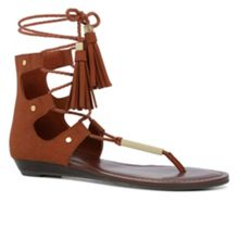 Aldo Jakki Lace-Up Flat Sandals