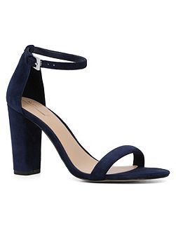 Cicci ankle strap high heel sandals