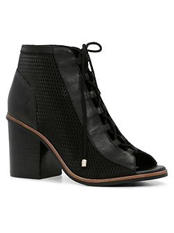 Sevilan lace up shootie boots