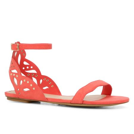Aldo Lillywhite cut out sandal