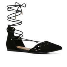 Aldo Harmony lace up pointed toe pump