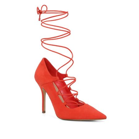 Aldo Kenneson pointed toe lace up stiletto