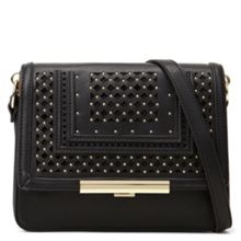 Aldo Linen Laser Cut Cross Body Bag