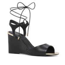 Aldo Frizzell lace up wedge sandals