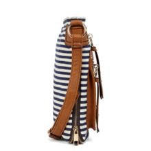 Aldo Rhinebolt striped cross body bag