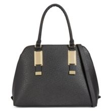Aldo Outline Metal Detail Satchel