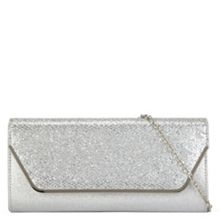 Aldo Pyramidal metallic clutch bag