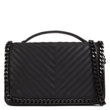 Aldo Greenwald quilted chain handbag