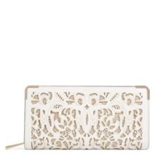 Aldo Vinton Laser Cut Leather Purse