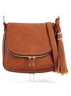 Kahaluu Plain Cross-Body Handbag