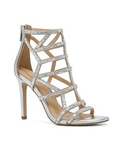 Norta cage stiletto heel sandals