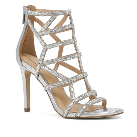 Aldo Norta cage stiletto heel sandals