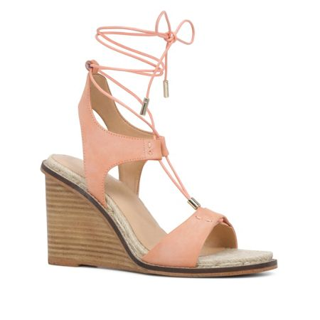 Aldo Terisa lace up wedge sandals