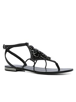 Lesli embellished flat sandals