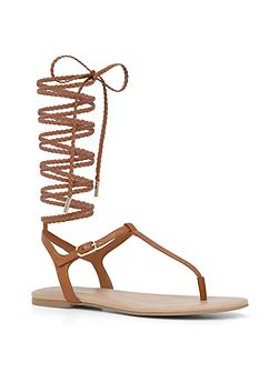 Peplow lace up sandals
