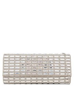 Alcoa embellished clutch bag