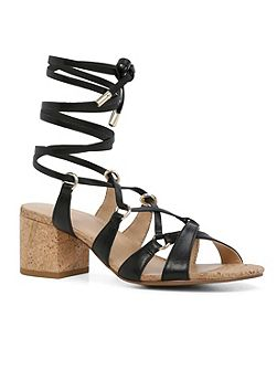 Pomeo lace up sandals