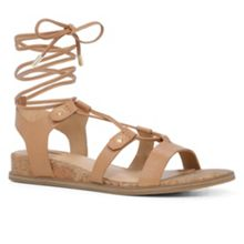 Aldo Lali flat lace up sandals
