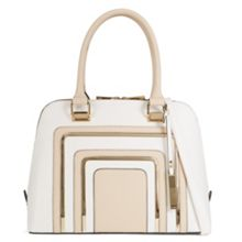 Aldo Notice metal detail satchel