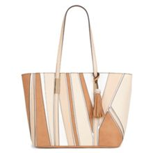 Aldo Riverbluff colour clock tote bag