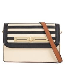 Aldo Eventuality striped cross body handbag