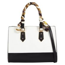 Aldo Toypoddle scarf satchel bag