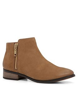 Julianna flat ankle boots