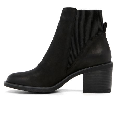 Aldo Boscara stacked heel ankle boots