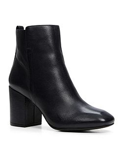 Quria stacked ankle boots