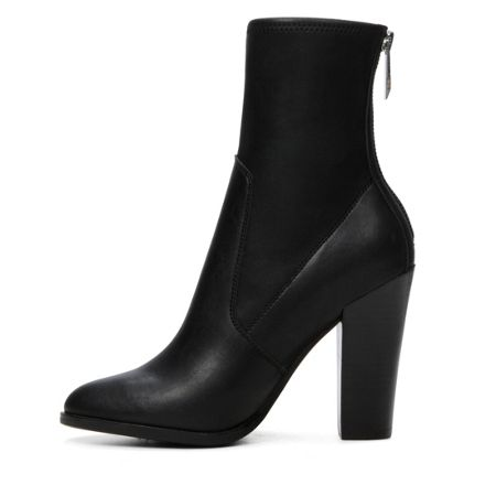 Aldo Tokologo stacked heel ankle boots