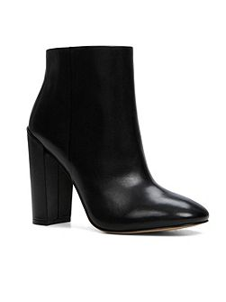 Aravia stacked heel ankle boots
