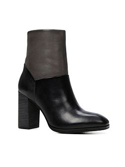 Catheryn stacked heel ankle boots