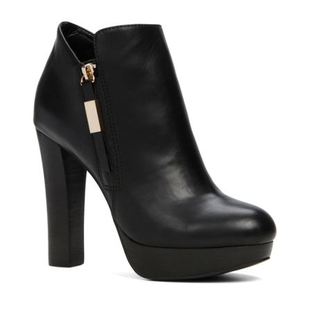 Aldo Asadda stacked heel ankle boots