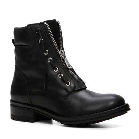Aldo Isaaca lace up flat ankle boots