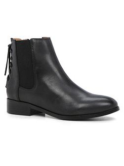 Boudinot flat ankle boots