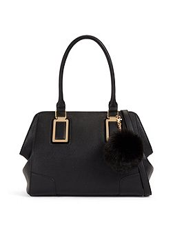 Lauzzana tote bag with pom pom