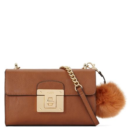Aldo Chirade xs cross body bag with pom pom