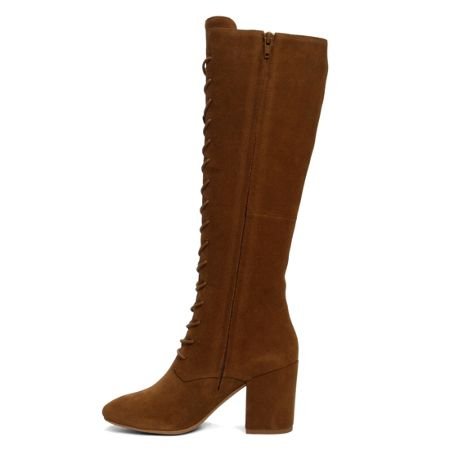 Aldo Etaesa lace up knee high boots