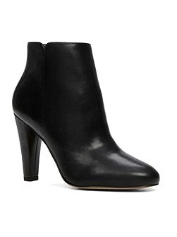 Huberta stacked heel ankle boots