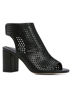 Kedilacia block heel open toe shoes